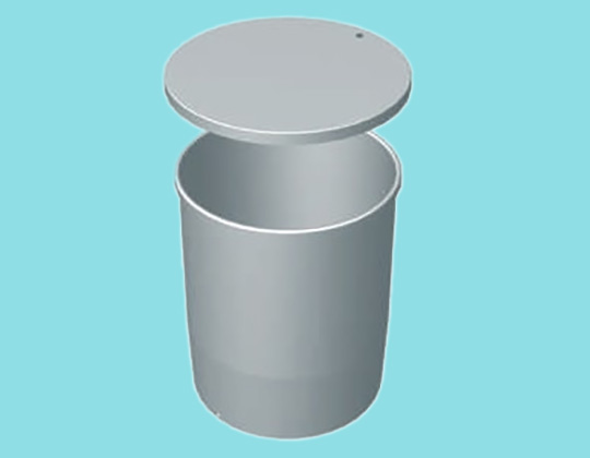 Water Tank 800L - Parallel Drum & place-on lid