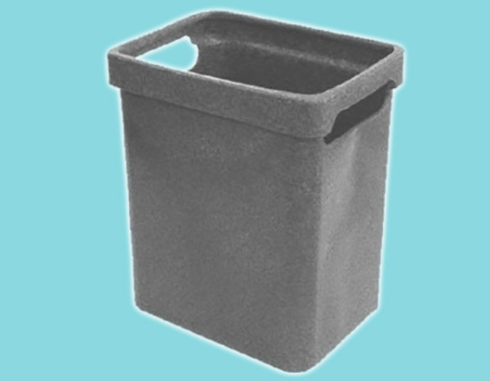 Bin with handle - 270L x 210W x 340H
